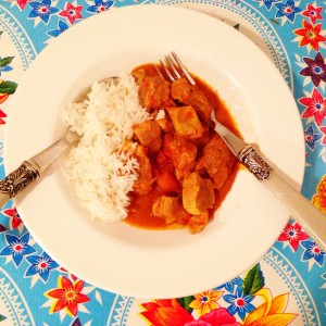 Indisches Fleischcurry