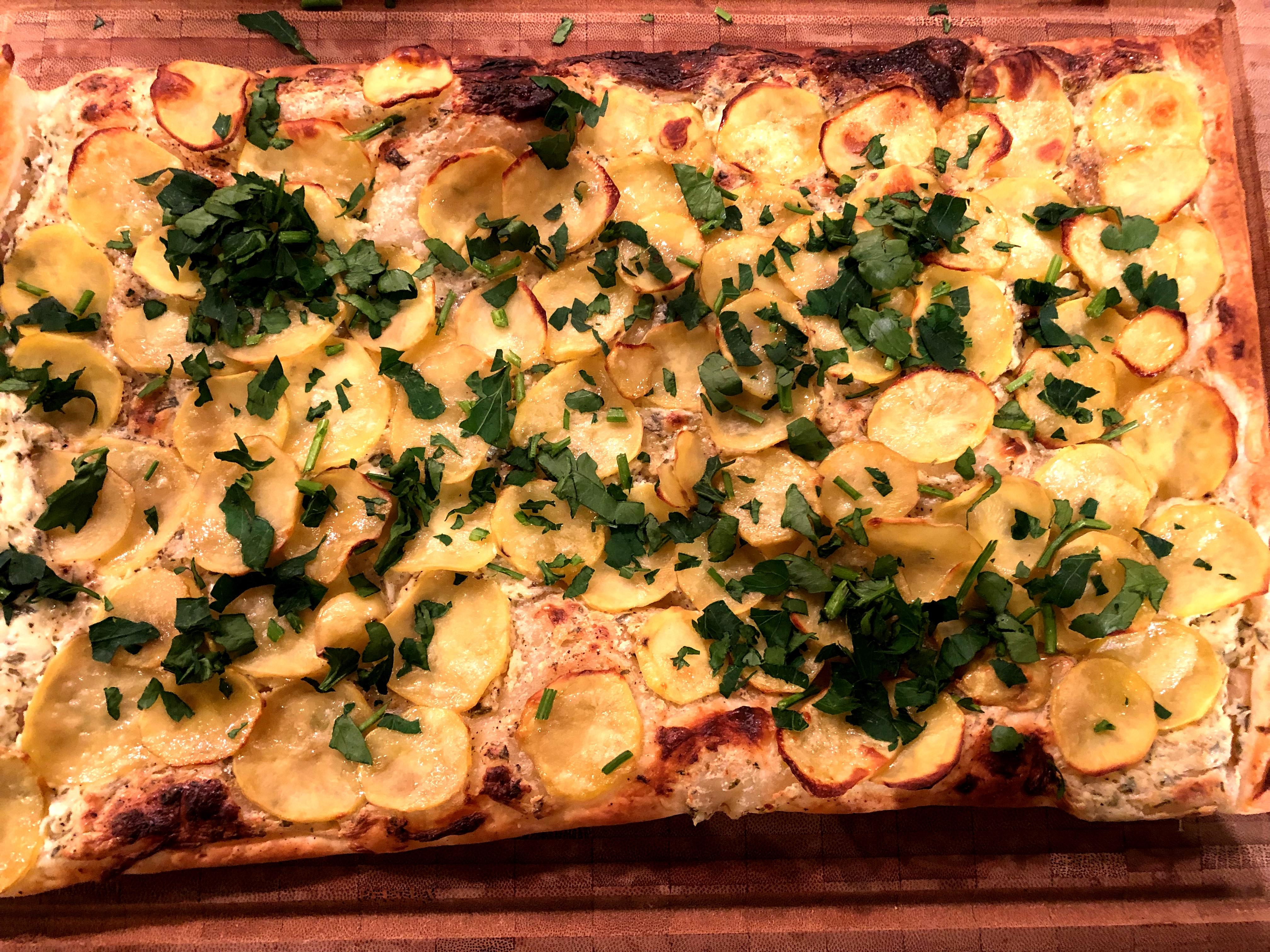 Kartoffeltarte